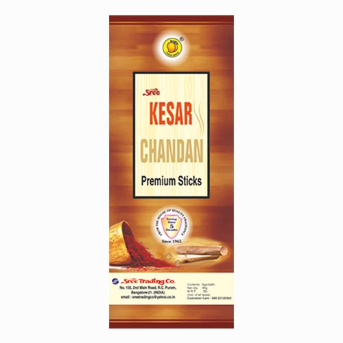 Kesar Chandan premium sticks